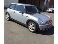 2006 Mini One 1.6 Silver Pepper Pack 92k miles History Heated Seats AirCon CD Alloys HPi Clear £1999