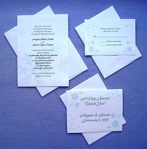 100-Personalized-Custom-Winter-Snowflake-Wedding-Invitations-Set-Thank-You-Cards