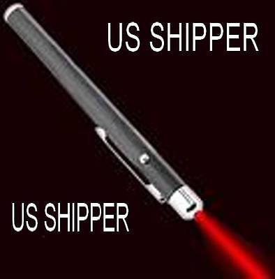 LASER POINTER, RED 5mw, 650nm SHIPPED FROM USA No waiting Ships within 24 Hrs