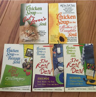 Chicken Soup for the Soul Books 10$