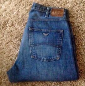 Armani vintage jeans 34w32 leg