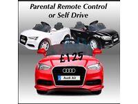 Audi A3, Parental Remote Control , Self Drive,