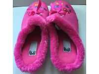 Cosies Slippers in Pretty Pink UK Size 4 EUR 7