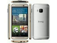 HTC One M9 Silver Unlocked 32gb