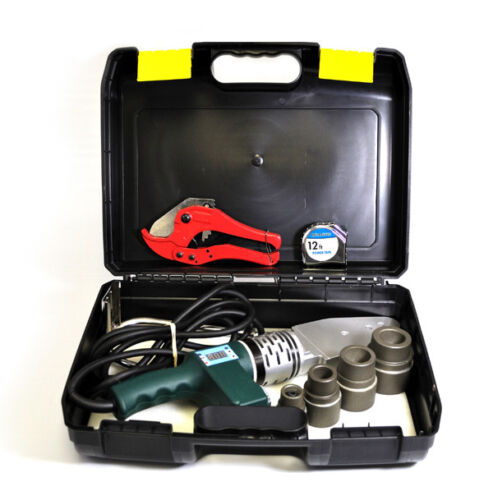 TK-300 NEW Pipe Welding Tool Kit w/5 Adapters- Socket Fusion