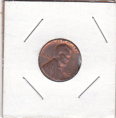 ERROR COIN CLIPPED PLANCHET 1964 D, UNCIRCULATED LINCOLN CENT,
