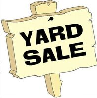 Large Yard Sale!  Saturday 01 August.