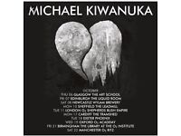 2 x Michael Kiwanuka Tickets, Manchester Ritz, Saturday 22 October 2016 SOLD OUT