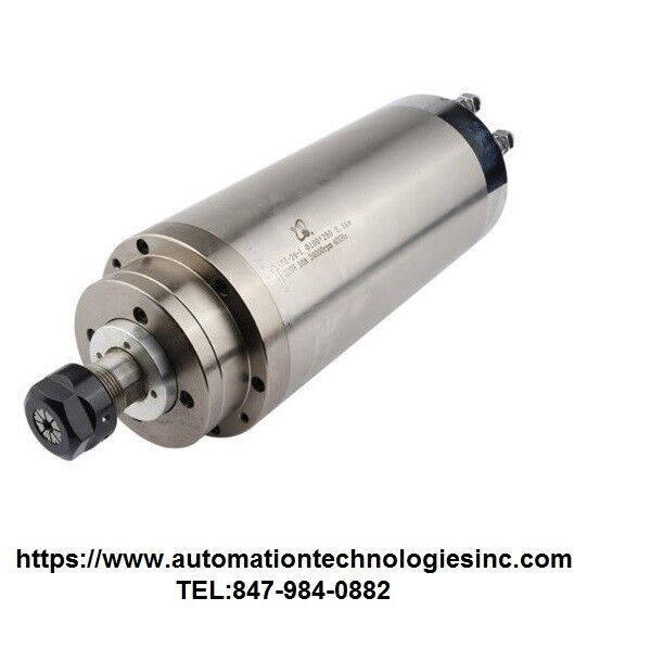 3.0KW 100mm High Speed Water Cooled CNC Spindle Motor for Woodwork220V-USA Stock