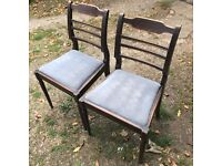 2x DINING / BEDROOM CHAIRS PROJECTS