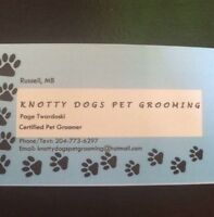 Knotty Dogs Pet Grooming.
