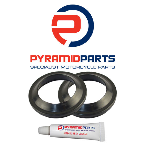 Pyramid Parts Fork Dust Seals for: Yamaha WR250 F 01-04