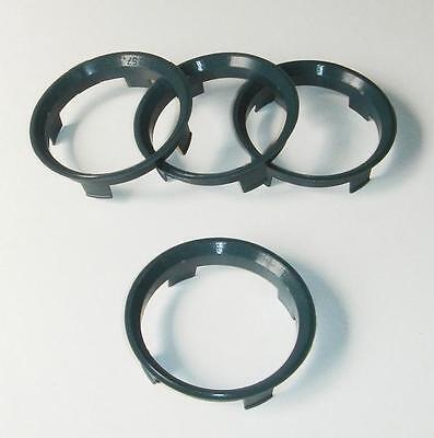 Spigot Rings to fit AEZ Dotz Dezent Alloys 60.1mm - 57.1mm VW