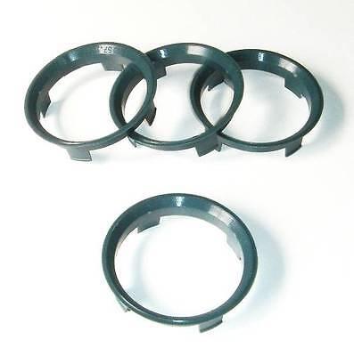 x4 Centre Spigot Rings Fox Alloys 60.1 - 57.1mm for VW Golf MK4