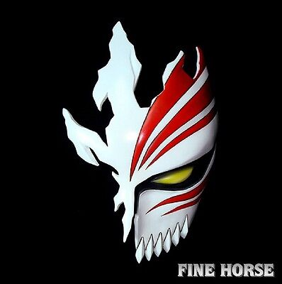 Bleach Kurosaki Ichigo Mask Maske Cosplay maschera halloween Kostüm masque V.2