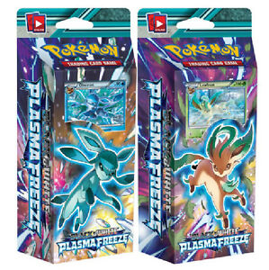 POKEMON BLACK & WHITE PLASMA FREEZE - BOTH PSY CRUSHER AND FROST RAY DECKS !!