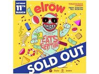 4 Tickets for Elrow Singermorning Tobacco Docks London 11 March