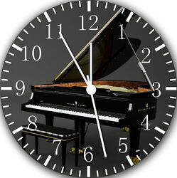 Grand Piano wall Clock 10 will be nice Gift and Room wall Decor E17