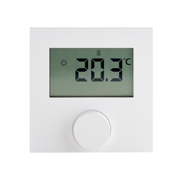 analog Aufputz Thermostat Raumthermostat mit Schalter Fußbodenheizung