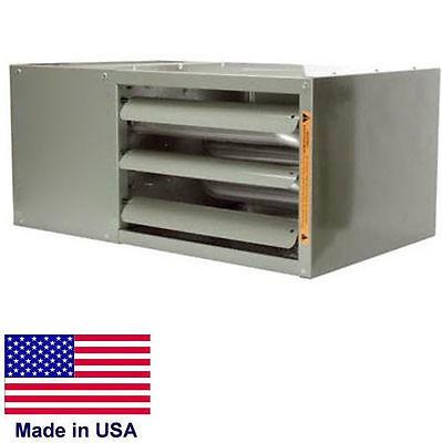 Unit Heater Commercial - Low Profile - Natural Gas - Power Vented - 48000 Btu