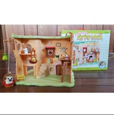 Tottoko Hamtaro Underground House,used item, F/S from Japan
