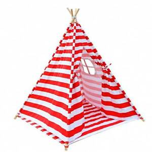 4 Poles Teepee Tent w/ Storage Bag Red - awesome adventure fun Perth Perth City Area Preview