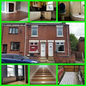 DSS / LHA only ! Clean & Tidy . 2 bedroom terrace in Mexborough S649NR £93/W