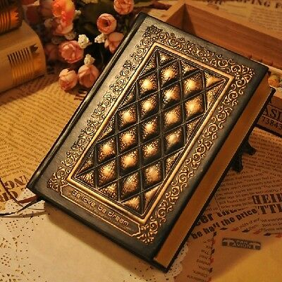 """""""Blessedness"""" 1pc Luxury Notebook Leather Cover Diary Journal Planner Vintage"""