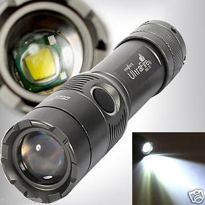 UltraFire 3000LM CREE XML T6 LED a zoom regolabile 18650 AAA torcia elettrica
