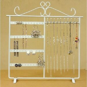 32-32cm-White-Earring-Display-Jewelry-Stand-Holder