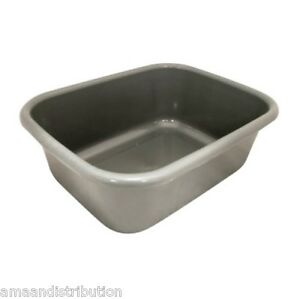 Plastic Sink Basin : LARGE-PLASTIC-RECTANGULAR-WASHING-UP-BOWLS-KITCHEN-SINK-BASIN-CUTLERY ...