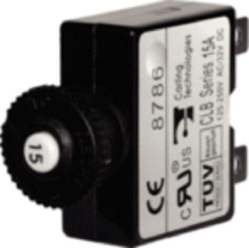 New Boat Circuit Breaker Push Button 20 AMP Marine AC / DC  BLU 7057