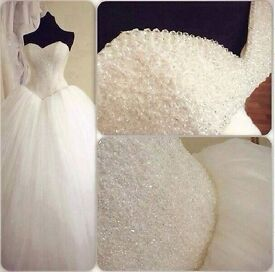 Wedding Dress for princess. Price for a new dress £1690.
