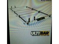 (NEW) Vauxhall vivaro LWB/low roof aluminium vanguard 4-bar ultimate system 2001-2014. fits Nissan