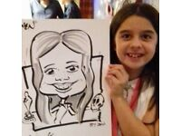 Wedding Reception Caricaturist
