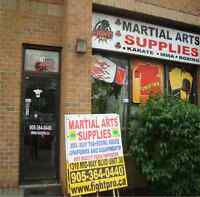 SAVE 70% OFF ON ALL YOUR MARTIAL ARTS SUPPLIES, WE SHIP FREEEEEE