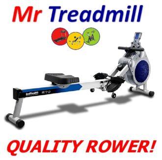 Infiniti R70 Dual Mode Rower | **BRAND NEW** | Mr Treadmill Hendra Brisbane North East Preview