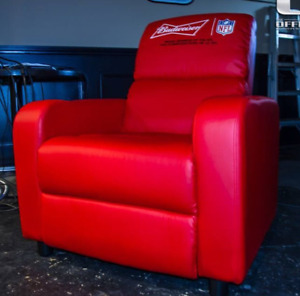 Budweiser leather recliner $400 obo