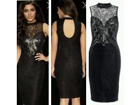Black dress kardashian Colletion BNWT