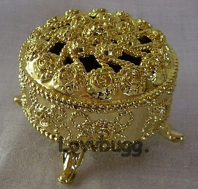 "Doll Jewelry Box Gold for 18"" American Girl Doll Accessory"