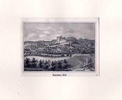 Blankenburg / Harz - Lithographie aus Görges 1843