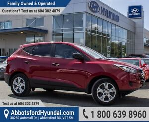 2015 Hyundai Tucson GL LOW KILOMETRES & BC OWNED