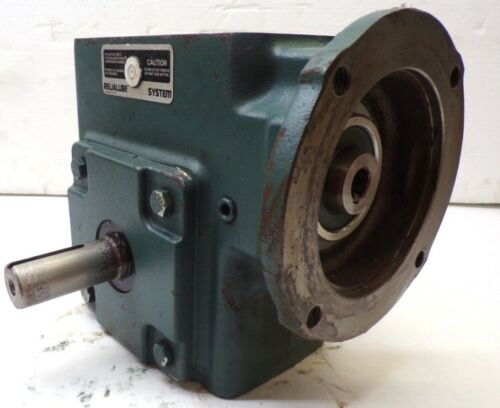 DODGE TIGEAR WORM GEAR SPEED REDUCER MR94668, Q262B015M056K1 15:1 RATIO, 2.24 HP