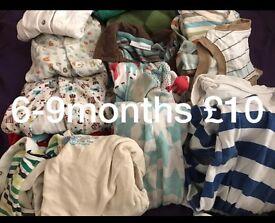Baby clothes boys bundle