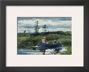 Winslow Homer Framed Print