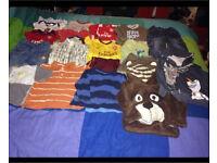 Bundle of clothes Disney, Ralph Lauren, Zara, vertbaudet, Gap etc