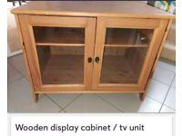 Wooden Storage Unit/Display Cabinet