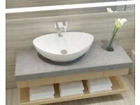 MAKE ME AN OFFER!!! BRAND NEW BEAUTIFUL OVAL COUNTERTOP BASIN / SINK