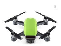 DJI spark meadow green for sale, never flown with all accessories, including controller