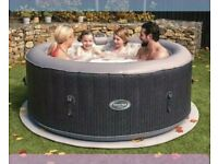 CleverSpa Corona 4 Person All Year Round Hot Tub With built in freeze shield technology